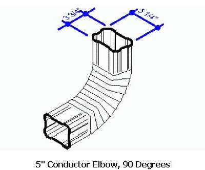 5 Conductor Elbow, 90 Degrees