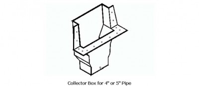 Collector Box for 4 or 5 Pipe