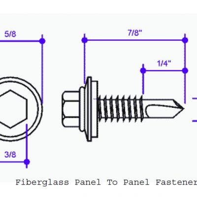 Fiberglass Self Drilling Screws