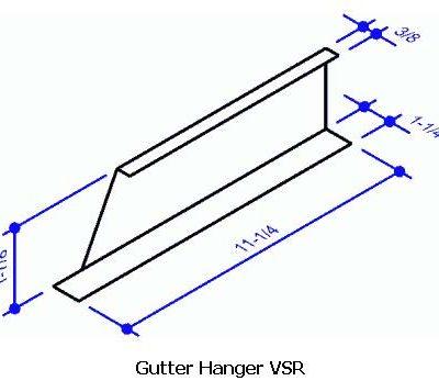 Gutter Hanger VSR