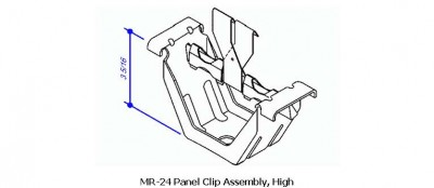 MR-24 Panel Clip Assembly, High