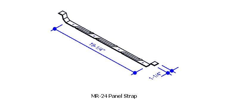 Mr 24 Panel Strap Mr 24 Roof System