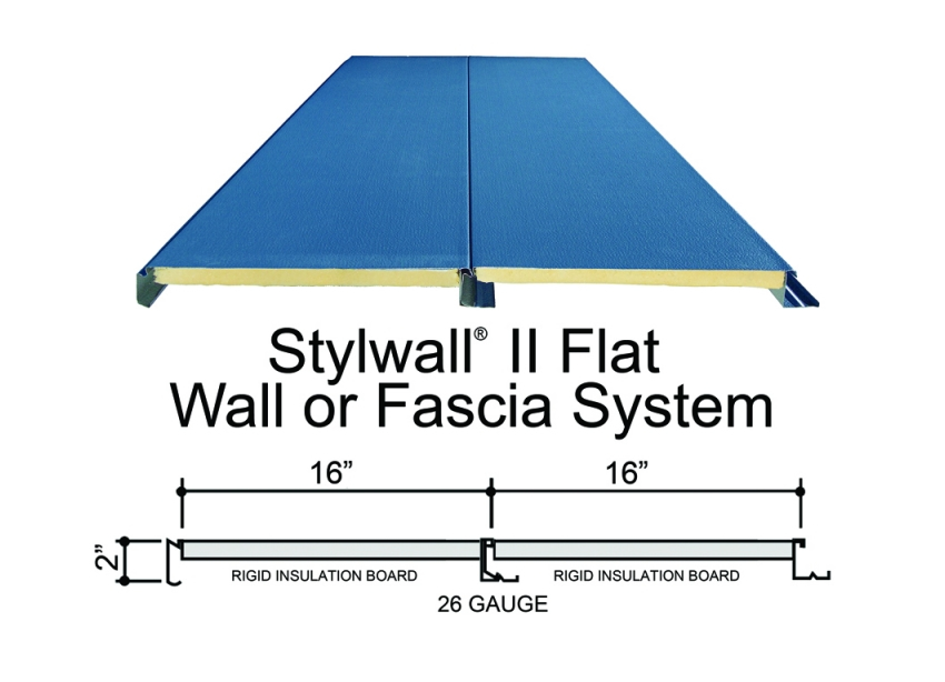 Stylwall Ii Flat Stylwall Ii Wall System