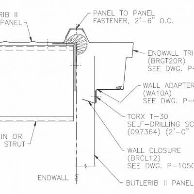 Roof trims butler building parts online for Butler building details